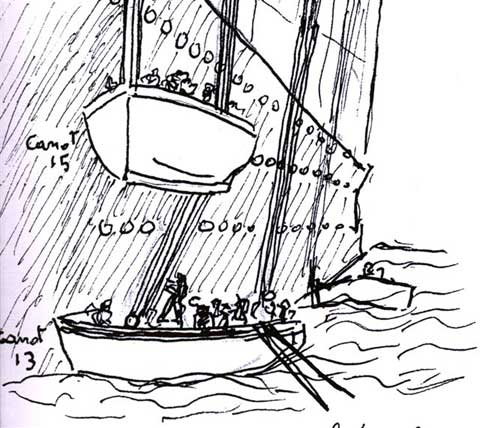List of Synonyms and Antonyms of the Word: Lifeboat Drawings